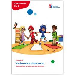 """Für Kitas: Methodenheft Kita 1 """"Kinderrechte kinderleicht"""""""