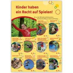 10 Plakate Warum Kinder spielen müssen