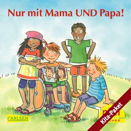 Für Kitas: PIXI Nut mir Mama UND Papa - das Kita-Paket (klein/30)