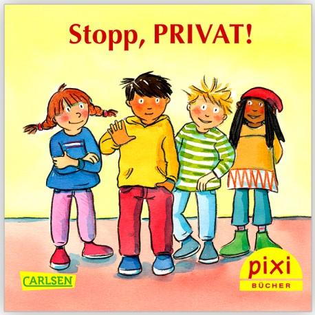 Für KITAS: PIXI Stopp, PRIVAT