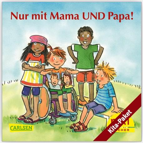 """Für Kitas: PIXI """"Nur mit Mama UND Papa!"""" - das Kita-Paket (groß/60)"""
