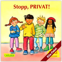 "Für Kitas: PIXI ""Stopp, PRIVAT!"" - das Kita-Paket (groß/60)"