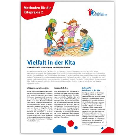 Vielfalt in der Kita - Methoden für die Kita-Praxis 2