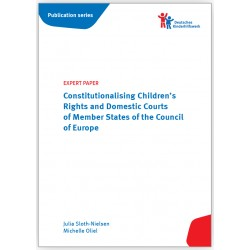 EXPERT PAPER Constitutionalising Children's Rights and Domestic Courts of Member States of the Council of Europe