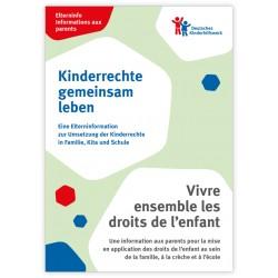 Elterninfo zur Umsetzung der Kinderrechte in Familie, Kita und Schule - deutsch/französisch