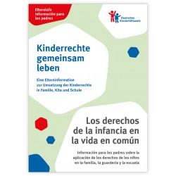 Elterninfo zur Umsetzung der Kinderrechte in Familie, Kita und Schule - deutsch/spanisch