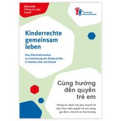 Elterninfo zur Umsetzung der Kinderrechte in Familie, Kita und Schule - deutsch/vietnamesisch