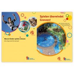Warum Kinder spielen müssen - Set Broschüre und Postkarten